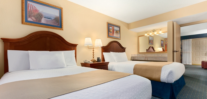 2 Double Bed Suites