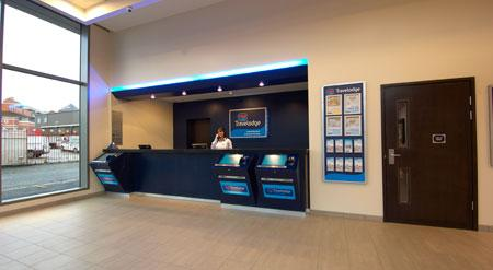 Manchester Central Arena - Hotel reception