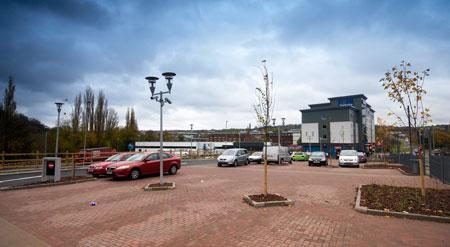Birmingham Halesowen - Hotel car park