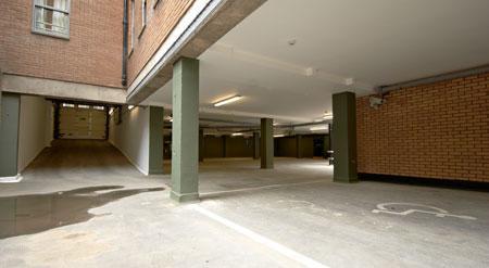 Edinburgh Central Queen Street - Hotel car park