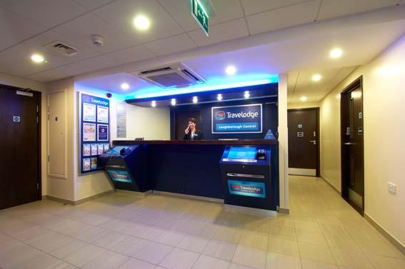 Loughborough Central - Hotel reception