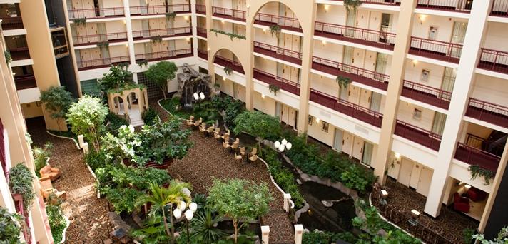 Atrium and Greenery