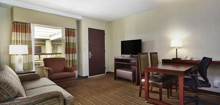 Premium King Living Area