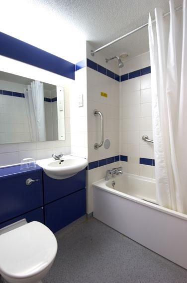 Cardiff Central - Family bathroom