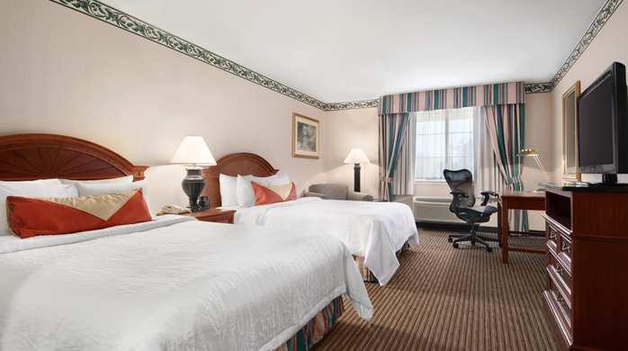 Hilton Garden Inn Palm Springs/Rancho Mirage Hotel, CA -2 Queen Beds Guest Room