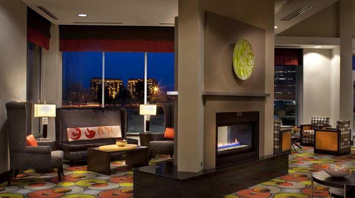 Lobby Fireplace