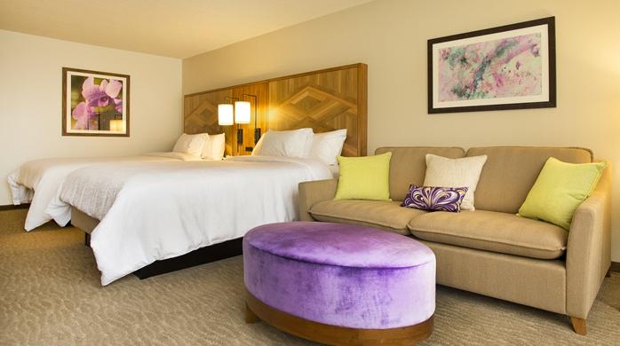 Garden View Twin hotel room