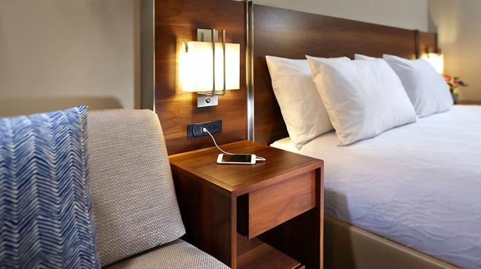 Guest Room, Nightstand