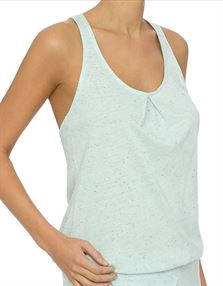 Picture of Lingadore Kalia Top With Twist Back Charl Blue