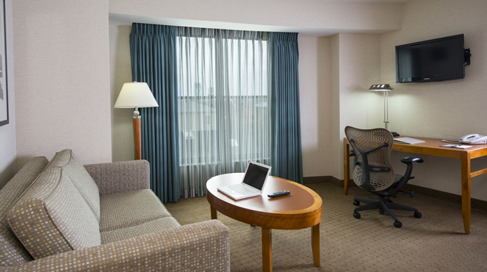 1 Bedroom Suite Lower Floor Seating Area