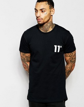11 Degrees Logo T-Shirt