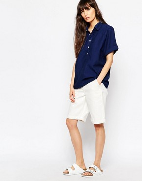 Bethnals Murphy Longline Denim Shorts