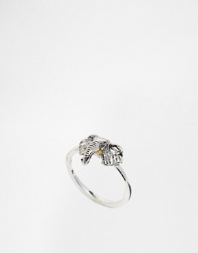 Bill Skinner Elephant Head Ring