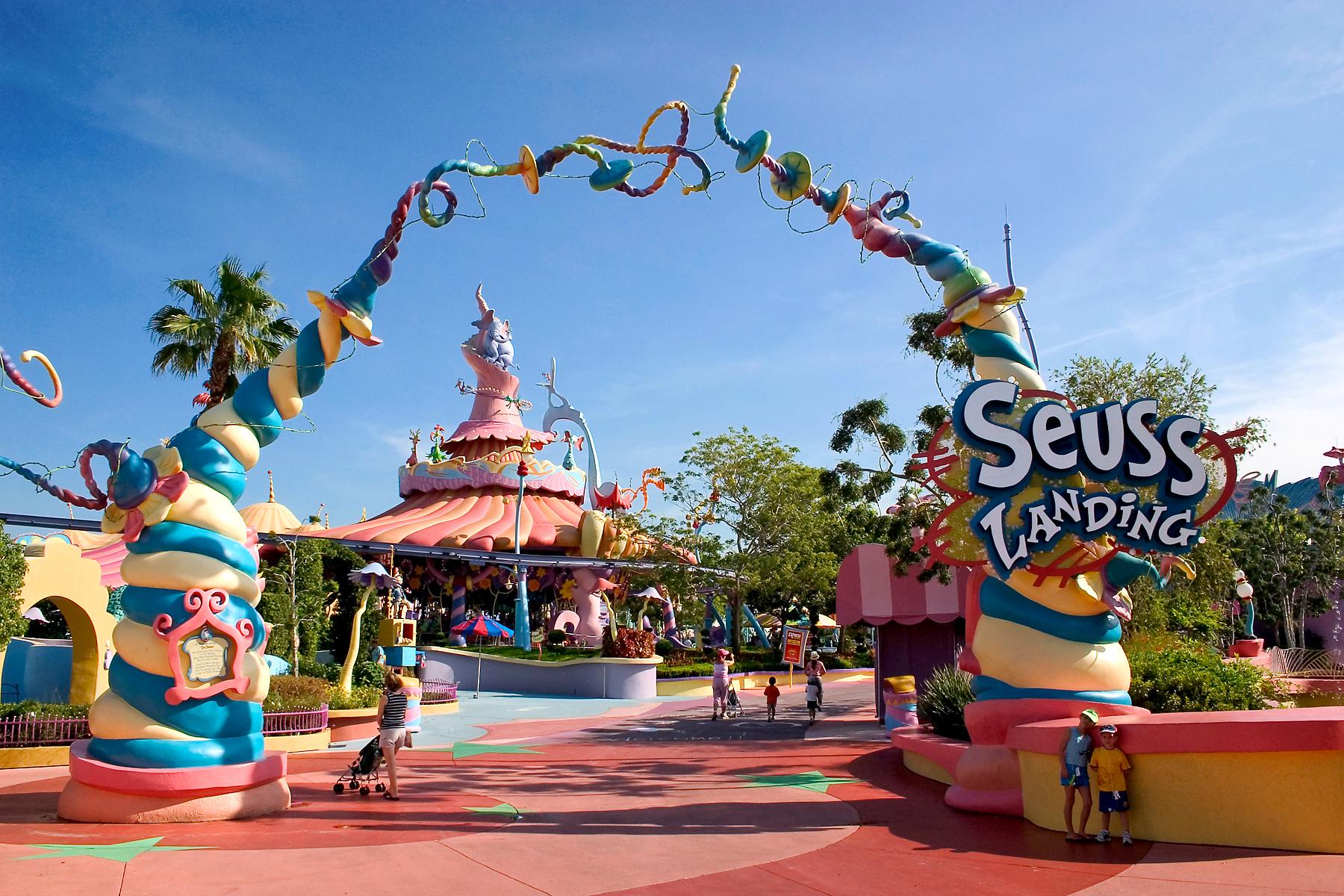 Seuss Landing at Islands of Adventure in Orlando