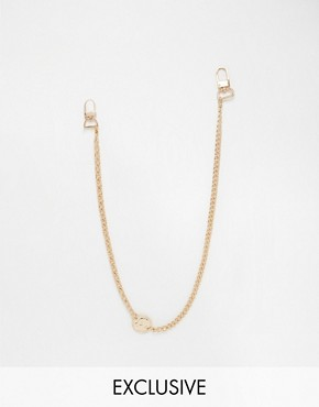 Chained & Able Coin Jean Chain In Gold