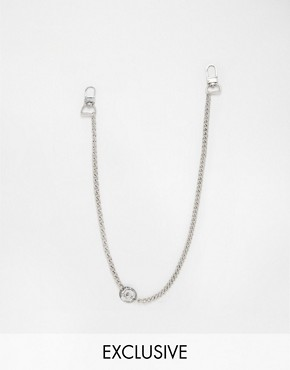 Chained & Able Coin Jean Chain In Silver