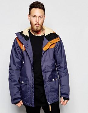 CLWR Waterproof Jacket with Contrast Shoulders