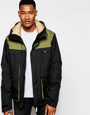 CLWR Jacket With Colour Block