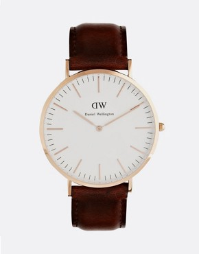 Daniel Wellington St Andrews 40 mm Watch in Rose Gold