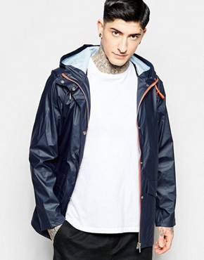 Fat Moose Seattle Waterproof Jacket in Navy
