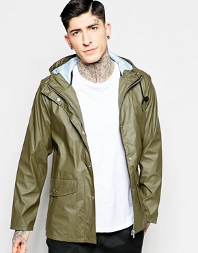 Fat Moose Seattle Waterproof Jacket in Green