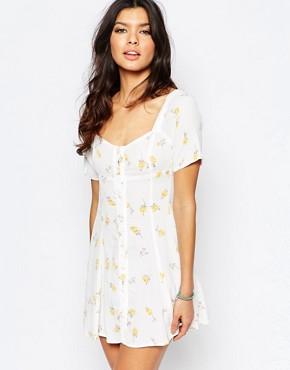 Flynn Skye Nyla Mini Dress in Summer Light Print