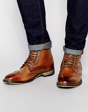 Frank Wright Brogue Boots