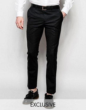 Heart & Dagger Wool Trousers in Skinny Fit