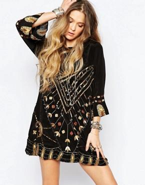 Jen's Pirate Booty Black Magic Mini Dress