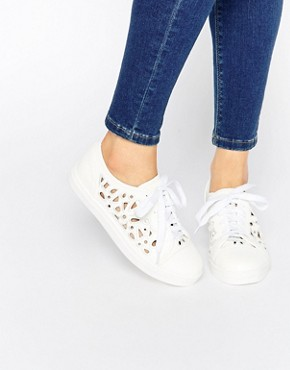 Lost Ink Steffi Laser Cut Plimsoll