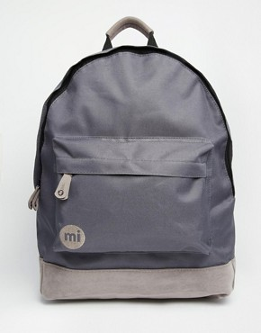 Mi-Pac Classic Backpack in All Charcoal
