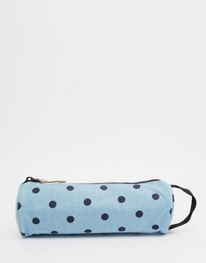 Mi-Pac Polka Dot Pencil Case