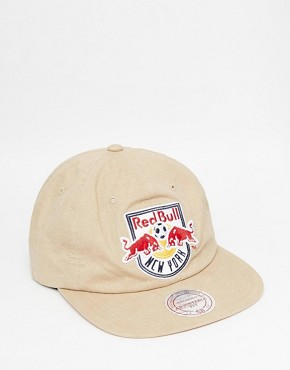 Mitchell & Ness Low Profile Red Bull Strapback Cap