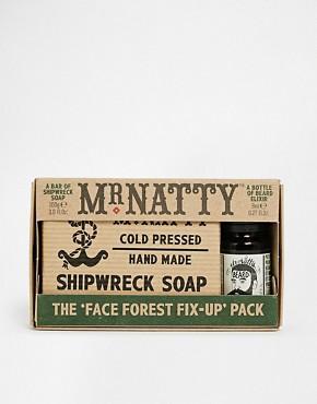 Mr Natty Beard Oil and Shipwreck Soap Set