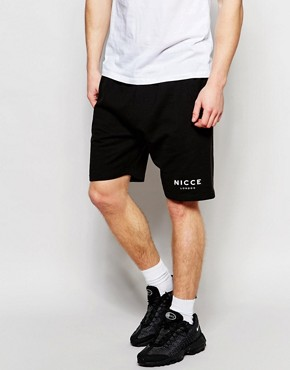 Nicce London Sweat Shorts with Logo