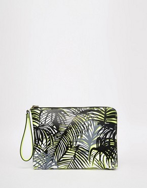 Paul's Boutique Mini Fleur Reversible Clutch Bag