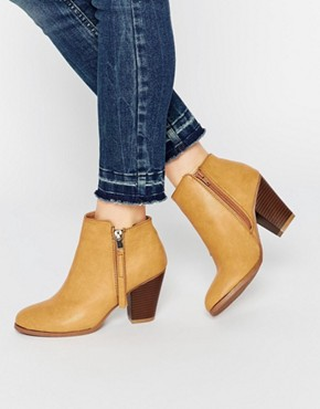 Pimkie Zip Ankle Boots