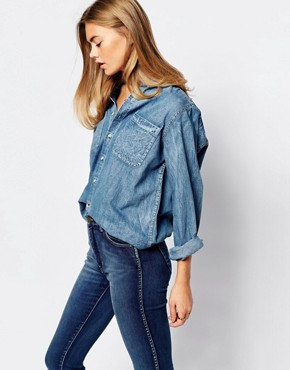 Rollas Denim Western Shirt