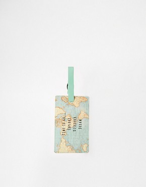 Sass & Belle Time To Explore Luggage Tag