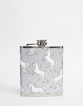 Skinnydip Unicorn Hip Flask