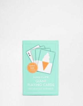 Sunnylife Giant Playing Cards