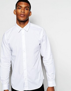Wincer & Plant Smart Shirt in Stretch Cotton Slim Fit