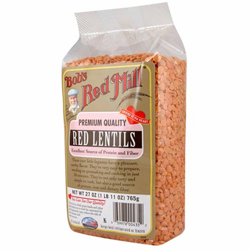 Bobs Red Mill Red Lentils (4 Pack)