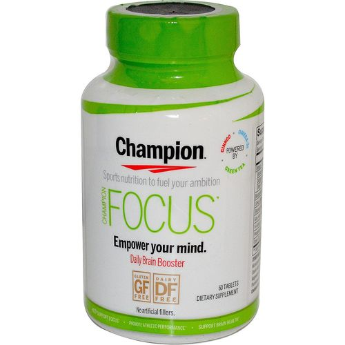 Champion Nutrition Focus Daily Brain Booster