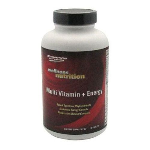 Champion Nutrition Multi Vitamin + Energy Wellness Nutrition