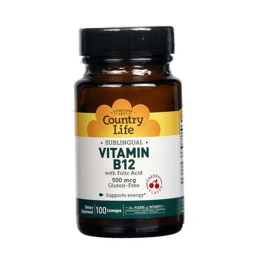 Country Life Sublingual Vitamin B12