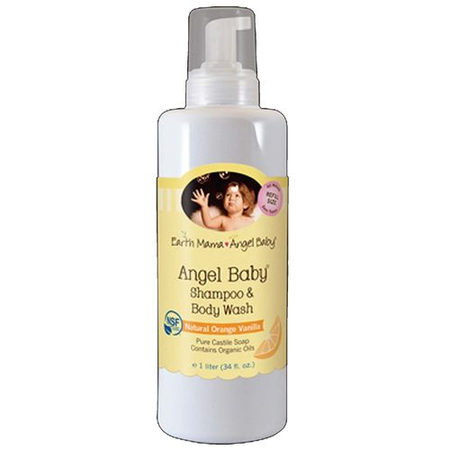 Earth Mama Angel Baby Angel Baby Shampoo and Body Wash