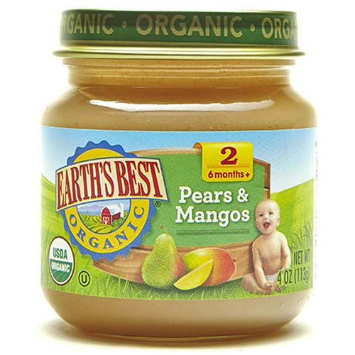 Earth's Best Pears and Mangos