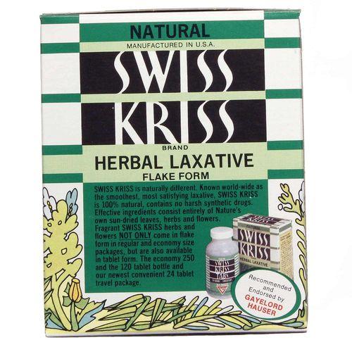 Gayelord Hauser Swiss Kriss Herbal Laxative
