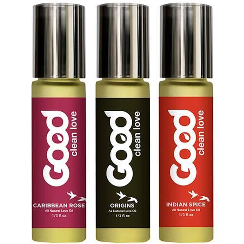 Good Clean Love Aphrodisiac Love Oil Gift Set
